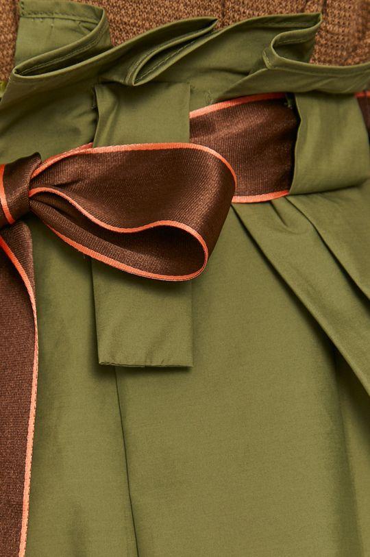 jasny oliwkowy United Colors of Benetton - Spódnica