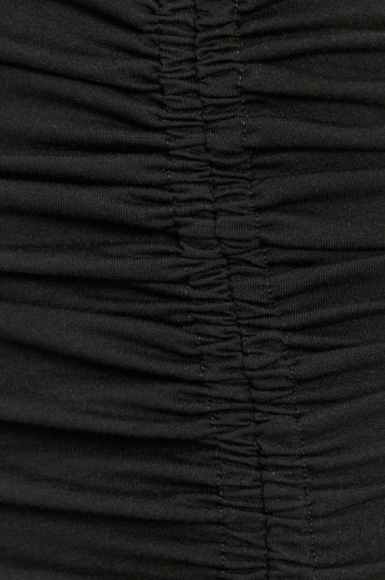 czarny Noisy May - Spódnica