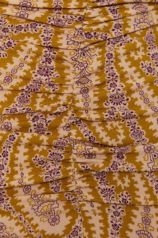 żółto - zielony Sisley - Spódnica