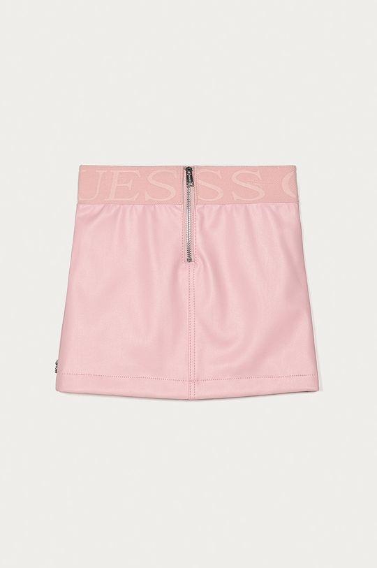 Guess - Spódnica dziecięca 98-122 cm różowy