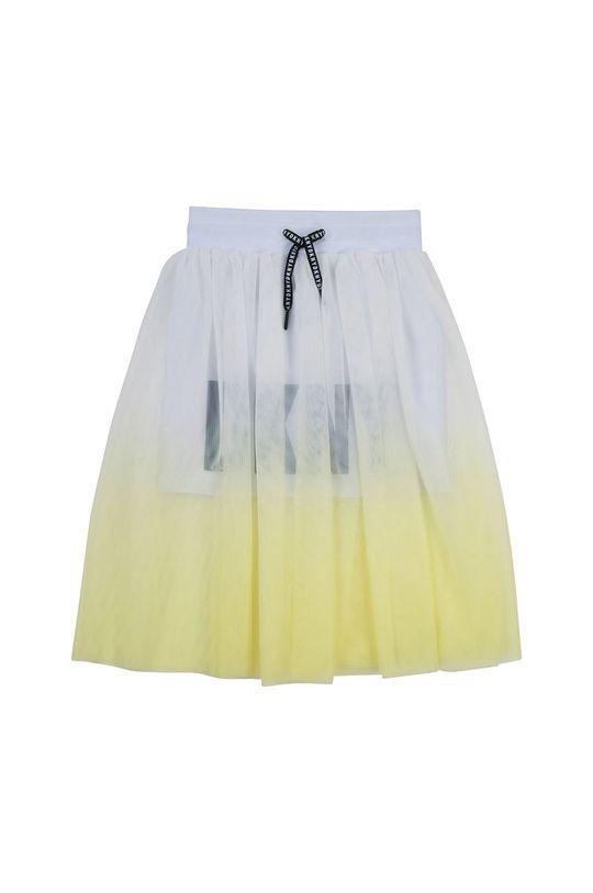 Dkny - Spódnica dziecięca 156-162 cm jasny żółty