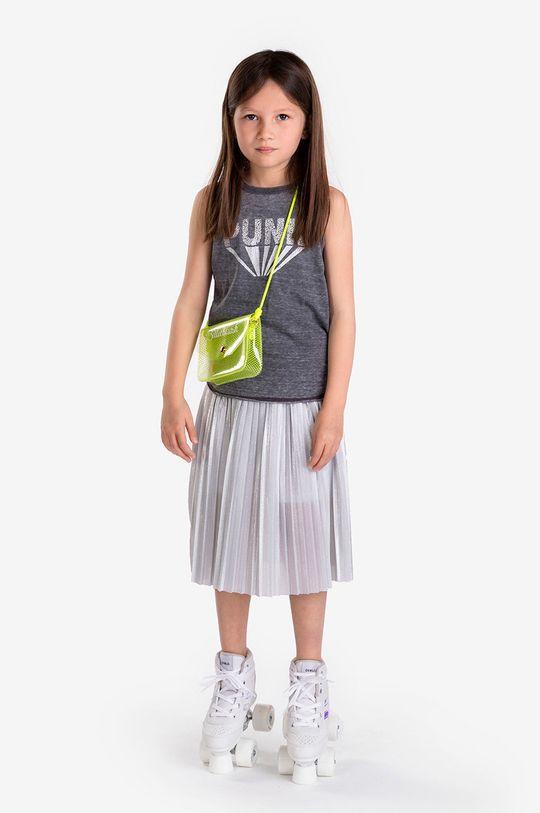 jasny szary Karl Lagerfeld - Spódnica dziecięca Dziewczęcy