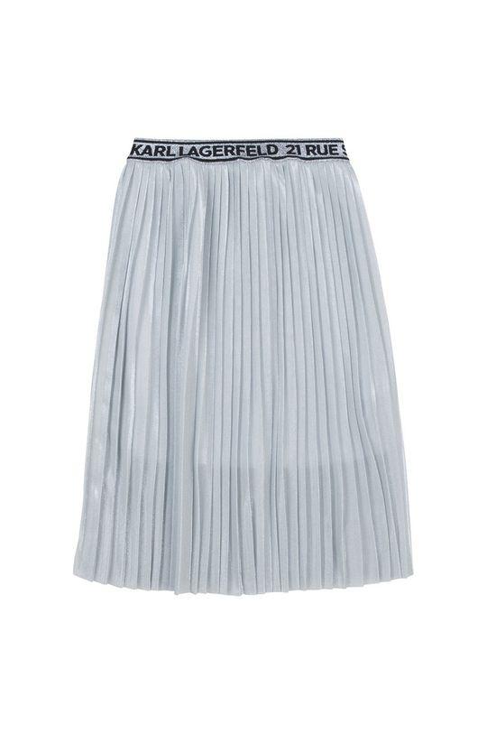 Karl Lagerfeld - Spódnica dziecięca jasny szary