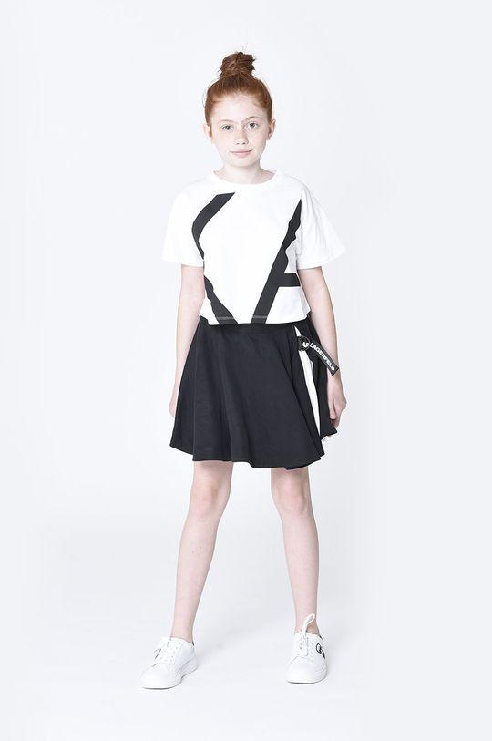czarny Karl Lagerfeld - Spódnica dziecięca Dziewczęcy