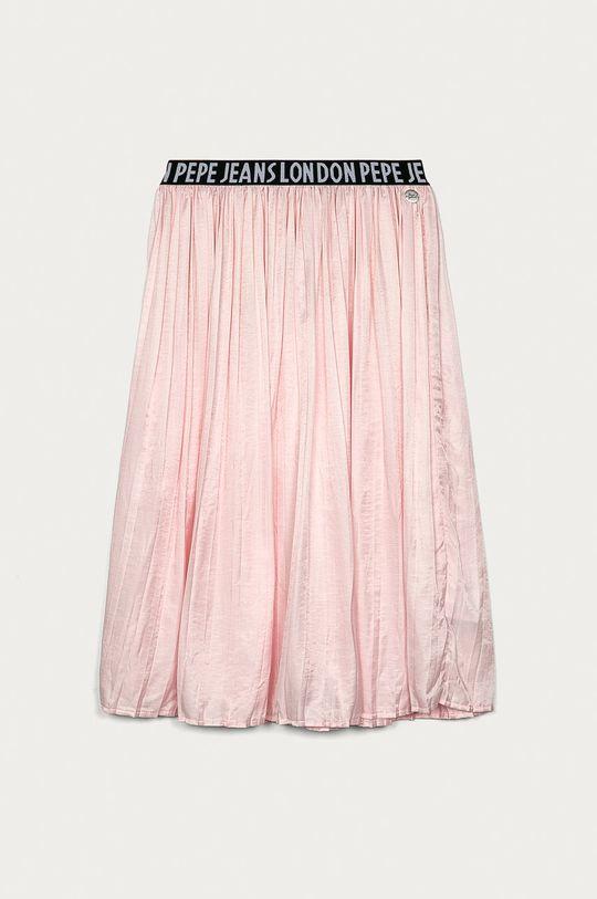 pastelowy różowy Pepe Jeans - Spódnica dziecięca Kesia 128-180 cm Dziewczęcy