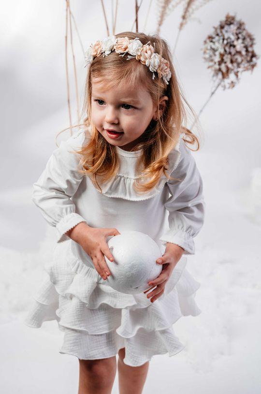 kremowy Jamiks - Spódnica dziecięca Lejdi 68-86 cm Dziewczęcy