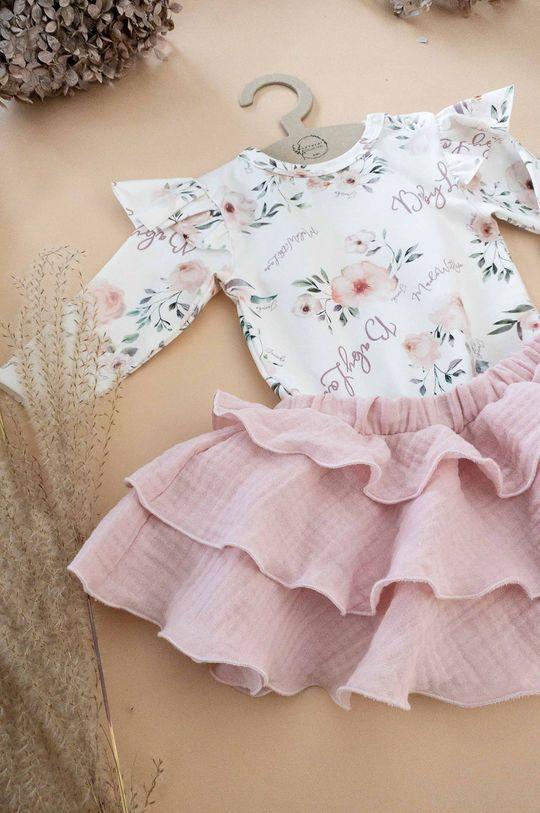 pastelowy różowy Jamiks - Spódnica dziecięca Lejdi 68-86 cm Dziewczęcy