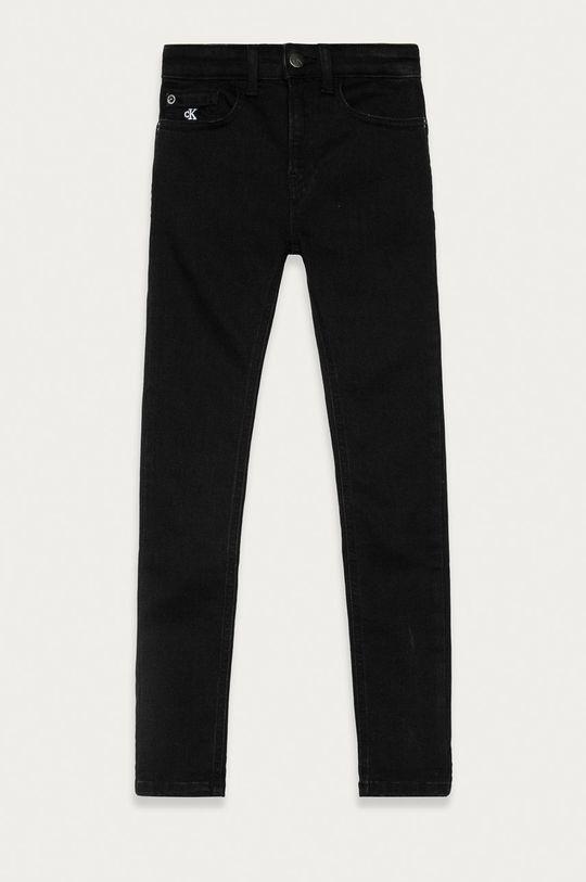 czarny Calvin Klein Jeans - Jeansy dziecięce 128-176 cm Chłopięcy