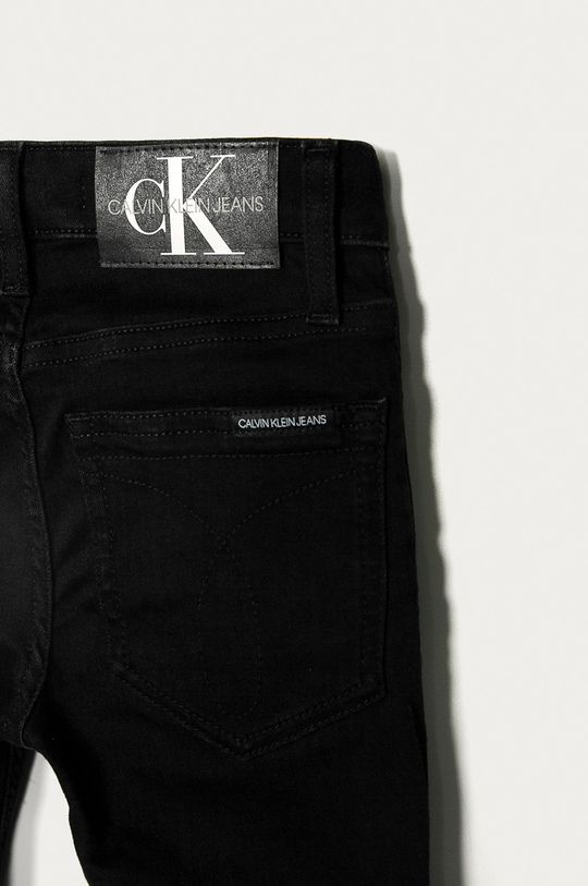 Calvin Klein Jeans - Jeansy dziecięce 128-176 cm czarny