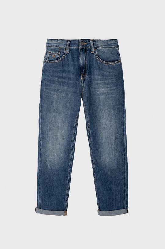 modrá Calvin Klein Jeans - Detské rifle 140-176 cm Chlapčenský