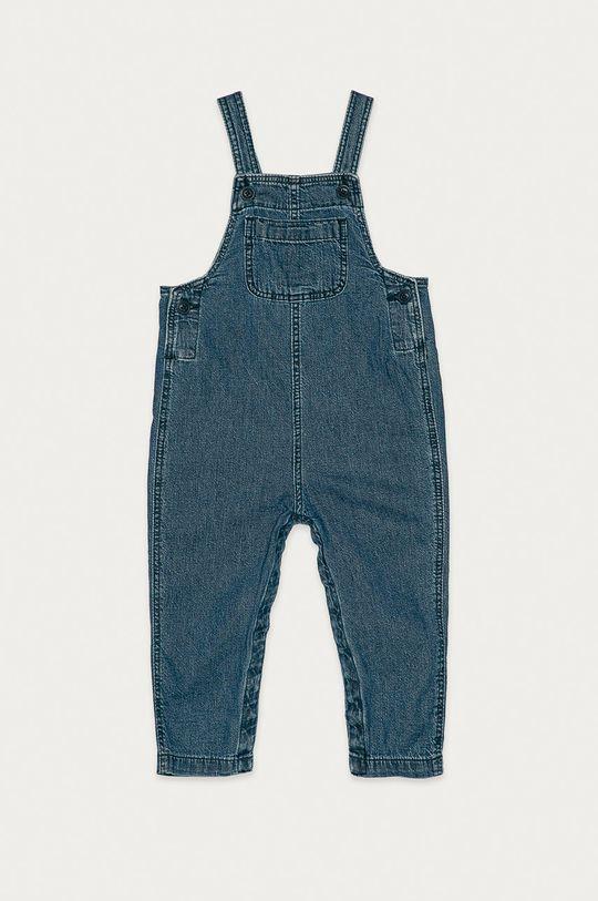 světle modrá GAP - Dětské kalhoty na šle 50-86 cm Chlapecký