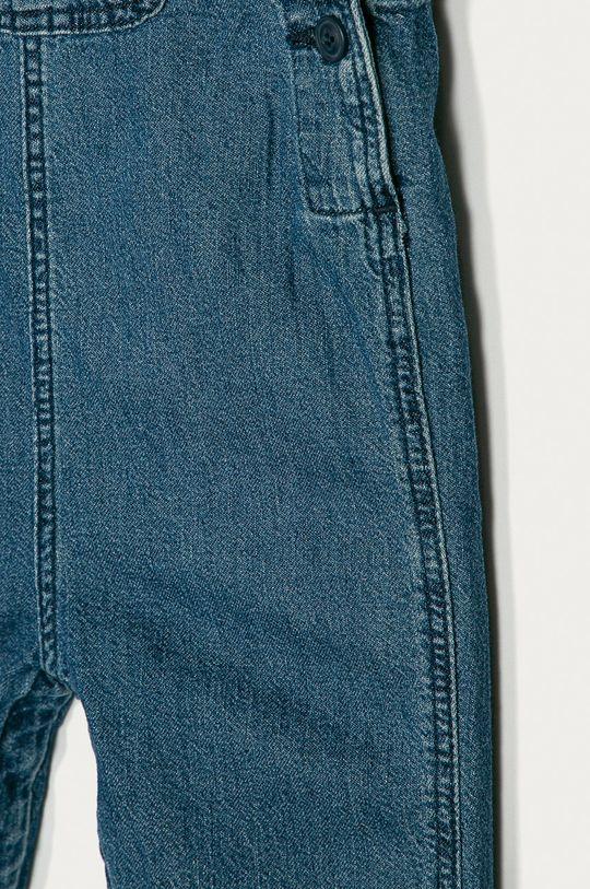 GAP - Dětské kalhoty na šle 50-86 cm světle modrá