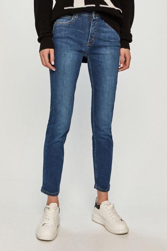 modrá Calvin Klein - Džíny K20K202838 Dámský
