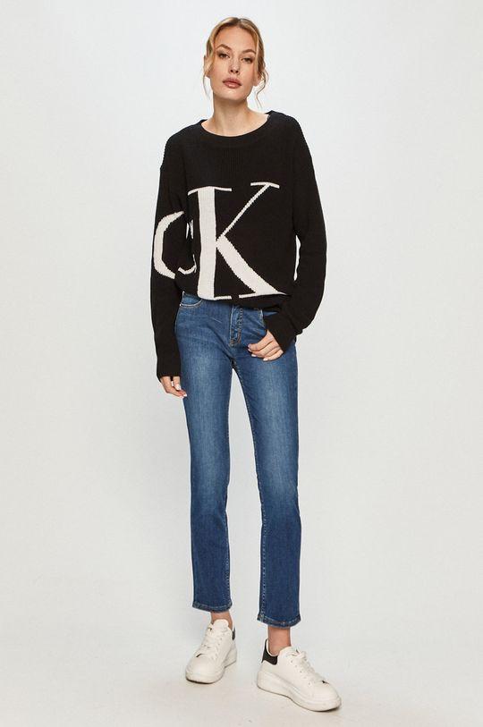 Calvin Klein - Džíny K20K202838 modrá