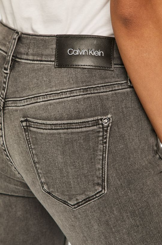 szary Calvin Klein - Jeansy