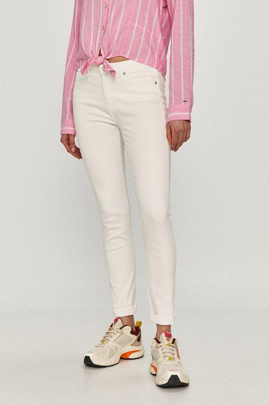 biela Calvin Klein Jeans - Rifle Dámsky