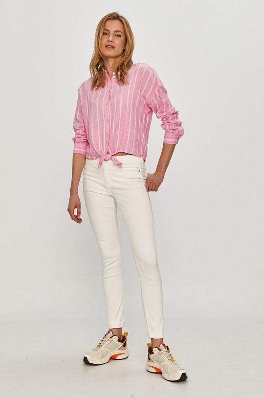 Calvin Klein Jeans - Rifle biela