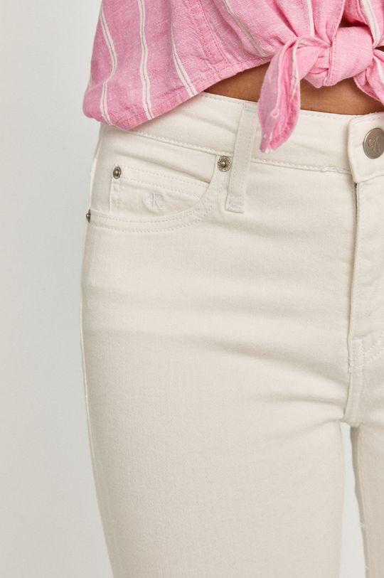 biela Calvin Klein Jeans - Rifle