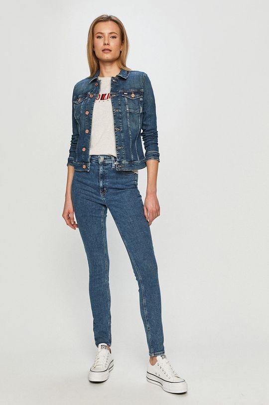 Calvin Klein Jeans - Jeansy 010 niebieski