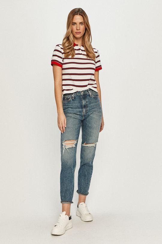 Calvin Klein Jeans - Jeansy Mom Jean niebieski