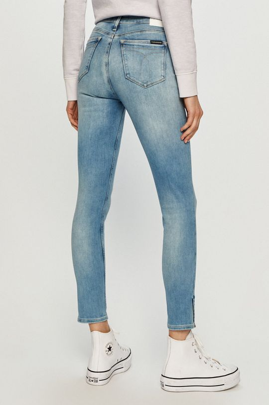 Calvin Klein Jeans - Jeansy 89 % Bawełna, 5 % Elastan, 6 % Poliester