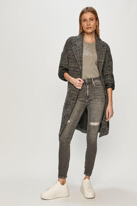 Calvin Klein Jeans - Džíny šedá