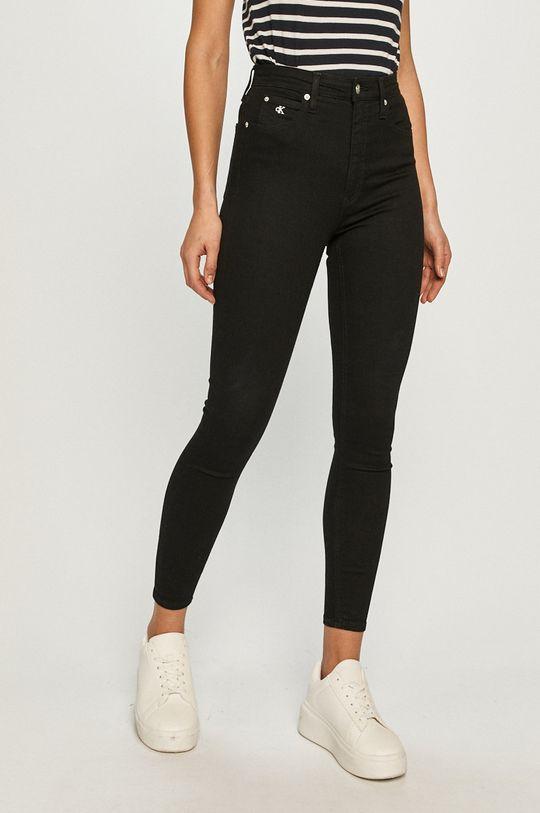 čierna Calvin Klein Jeans - Rifle Dámsky