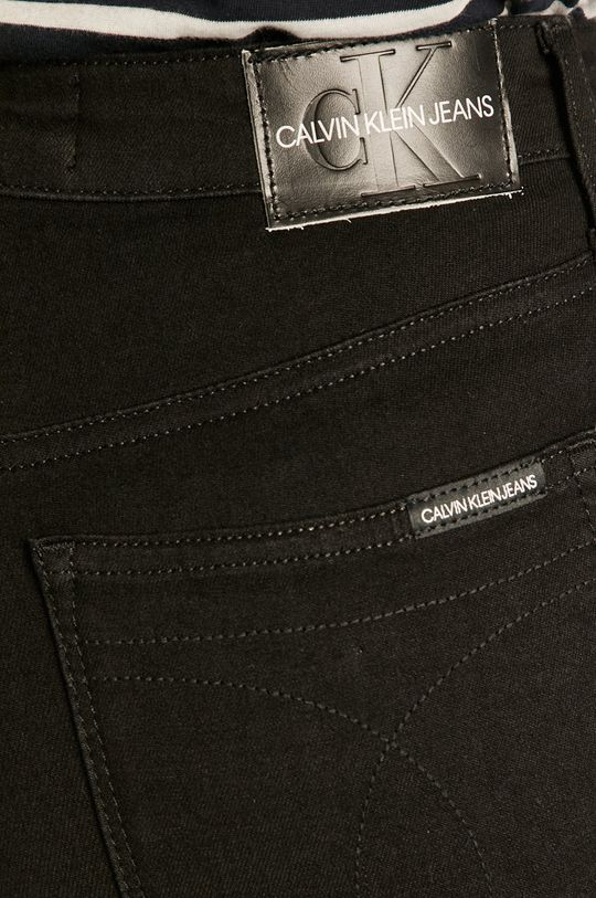 čierna Calvin Klein Jeans - Rifle