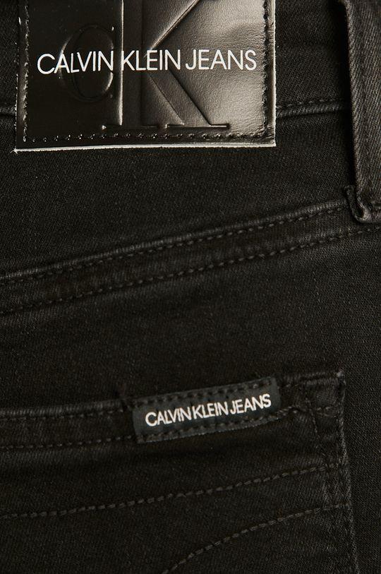černá Calvin Klein Jeans - Džíny