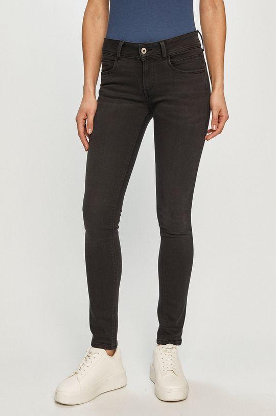 czarny Pepe Jeans - Jeansy New Brooke Damski
