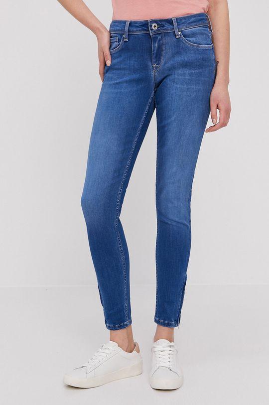 niebieski Pepe Jeans - Jeansy Lola Damski