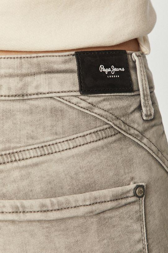 szary Pepe Jeans - Jeansy Regent Retro