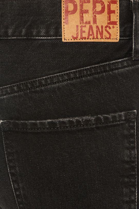 černá Pepe Jeans - Džíny Mable