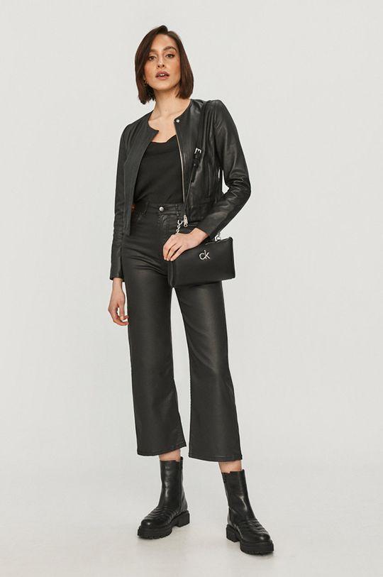 Pepe Jeans - Spodnie Lexa Gloss czarny