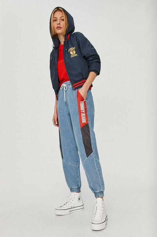 Tommy Jeans - Rifle svetlomodrá