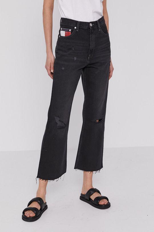 čierna Tommy Jeans - Rifle Harper Dámsky