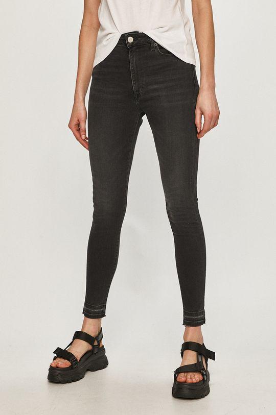 černá Tommy Jeans - Džíny Sylvia Dámský