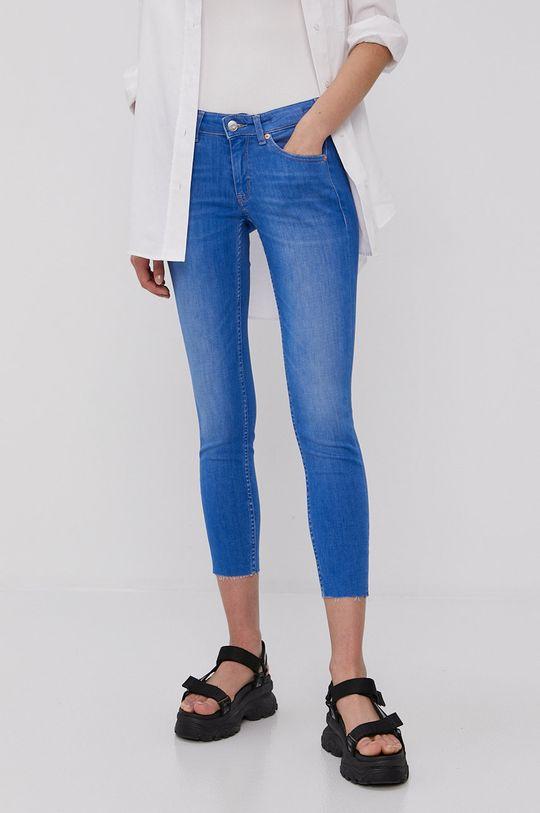 niebieski Tommy Jeans - Jeansy Sophie Damski