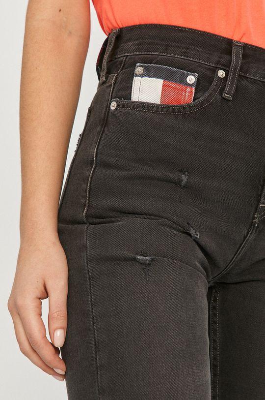 čierna Tommy Jeans - Rifle Izzy