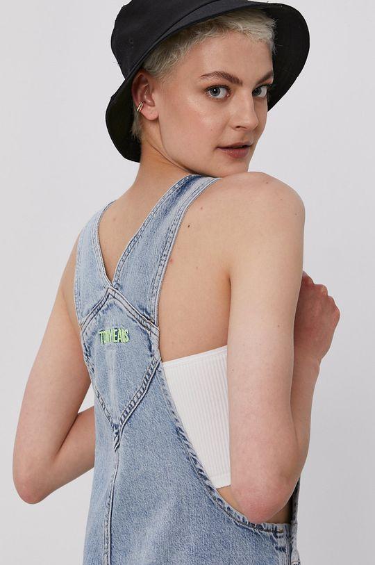 jasny niebieski Tommy Jeans - Ogrodniczki Dungaree