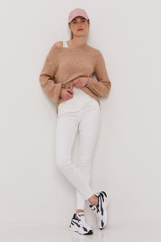 Tommy Jeans - Džíny Nora bílá