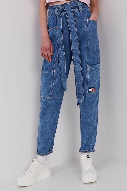 modrá Tommy Jeans - Rifle Mom Dámsky