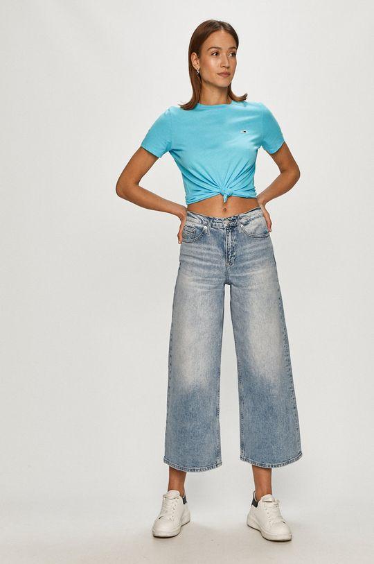 Tommy Jeans - Jeansy Meg jasny niebieski