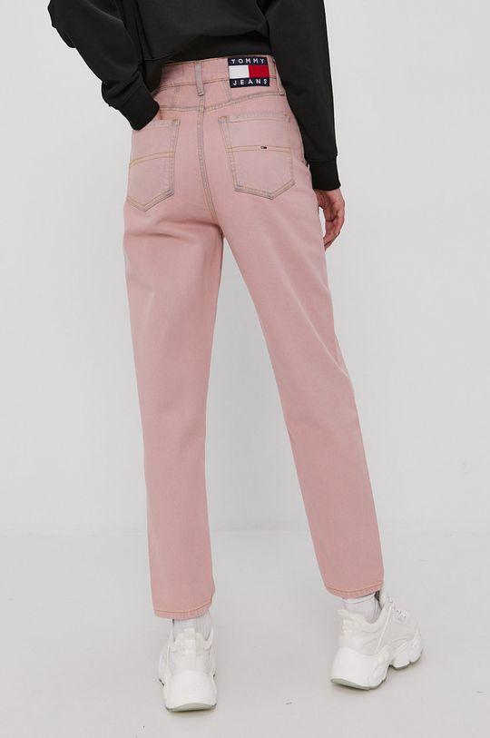 Tommy Jeans - Jeansy Mom 99 % Bawełna, 1 % Elastan