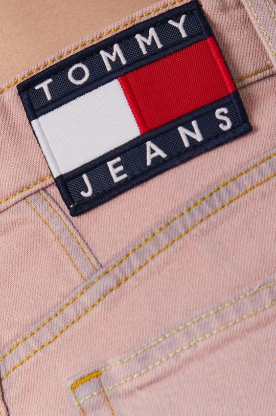 różowy Tommy Jeans - Jeansy Mom