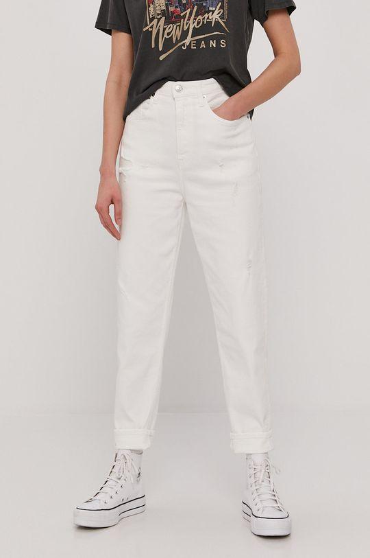 biela Tommy Jeans - Rifle Dámsky