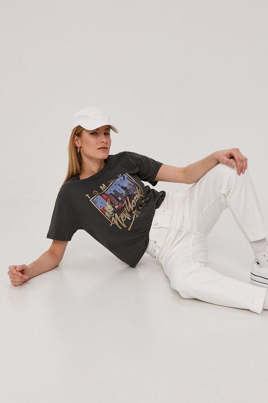 Tommy Jeans - Rifle biela