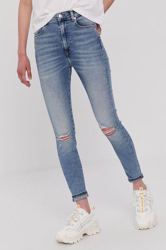 jasny niebieski Tommy Jeans - Jeansy Sylvia Damski