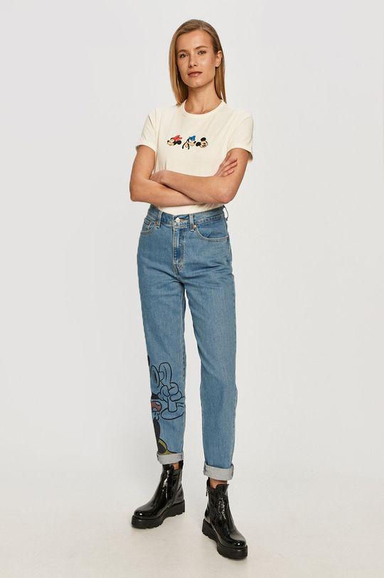 Levi's - Jeansy x Disney niebieski