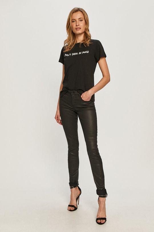 Guess - Pantaloni negru